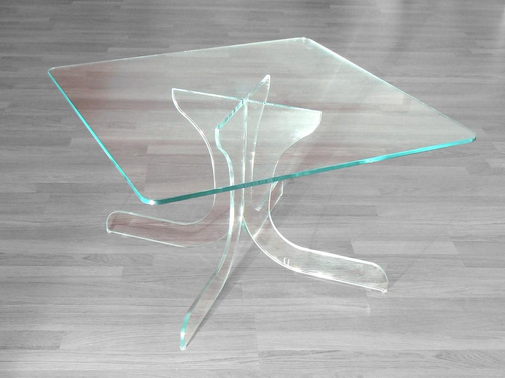 Tavolino cristallo marty glass design for Tavolini vetro